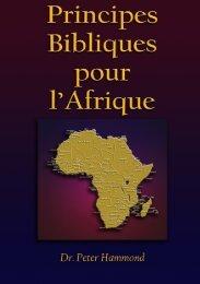 Principes Bibliques pour l'Afrique