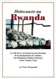 Holocauste Au Rwanda