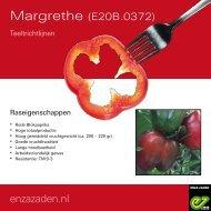 Teeltrichtlijnen Margrethe