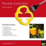 Teeltrichtlijnen Florate