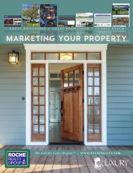 Marketing Your Property - Roche Realty Group, Inc.