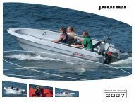 tamaran - Pioner-Boote