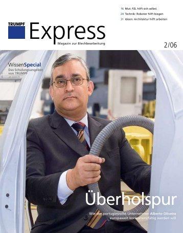 TRUMPF Express, Ausgabe 02/2006