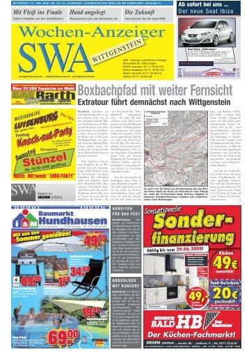 Boxbachpfad mit weiter Fernsicht - Siegerländer Wochen-Anzeiger