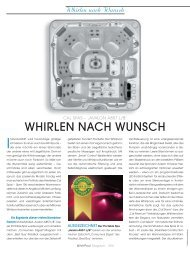 Whirlen nach Wunsch - Whirlpool-zu-Hause.de