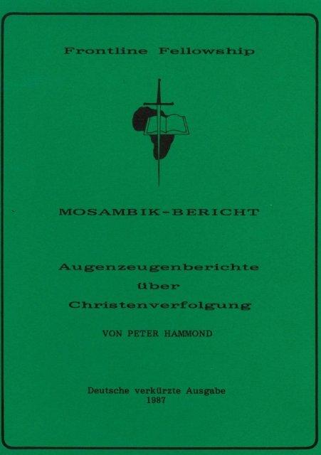 MOSAMBIK BERICHT