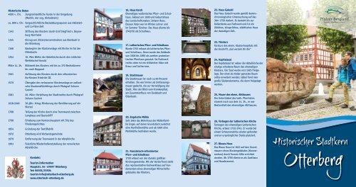 Historischer Stadtplan Otterberg