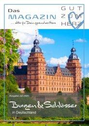 GUT ZUM HERZ | Das Magazin Ausgabe Juli 2020 »Burgen und Schlösser«