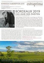Extraprima Bordeaux 2019 Subskription Offerte