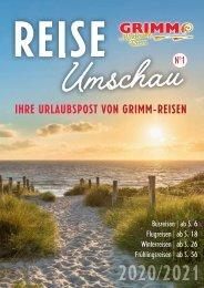 GRIMM REISE Umschau Nr. 1 2020/2021