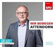 SPD-Attendorn – Kommunalwahl2020 – Ulrich Bock