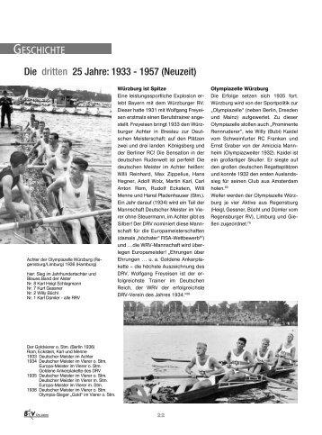 1933-1957 - Bayerischer Ruderverband