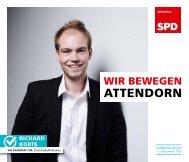 SPD-Attendorn – Kommunalwahl2020 – Richard Korte