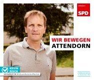 SPD-Attendorn – Kommunalwahl2020 – Kevin Risch
