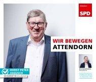 SPD-Attendorn – Kommunalwahl2020 – Horst Peter Jagusch