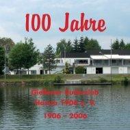 Festschrift zur 100-Jahr-Feier der Hassia - Gießener Ruderclub Hassia