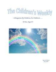 Children's July Magazine