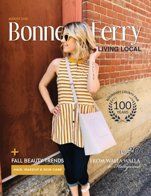 August 2020 Bonners Ferry Living Local