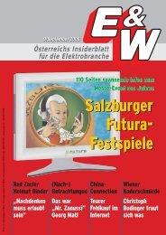Salzburger Futura- Festspiele Salzburger Futura- Festspiele - E&W