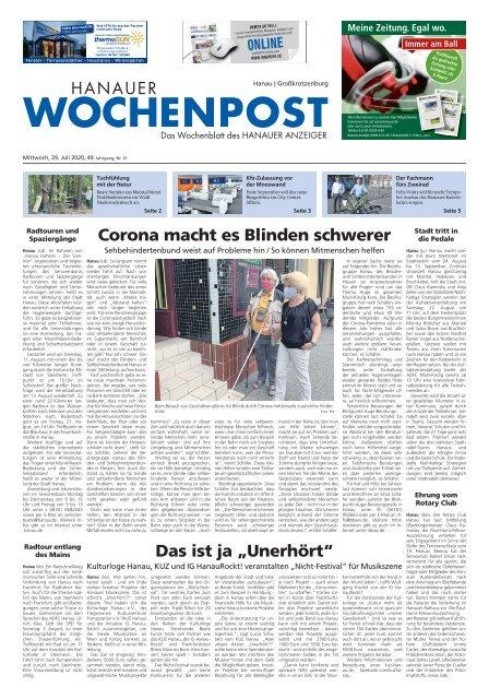 Wochenpost KW31