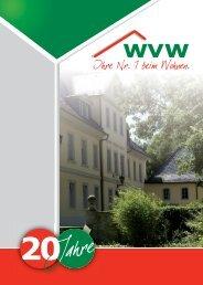 Jubiläum - WVW Weißenfels GmbH