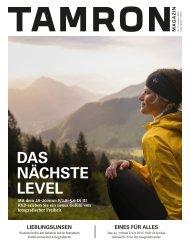 Tamron Magazin Ausgabe 11 Sommer 2020