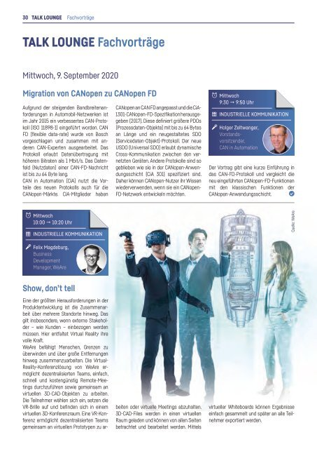 Messemagazin & Katalog | all about automation essen