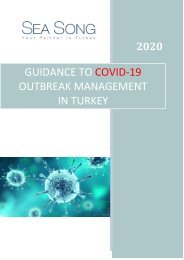 Guidance To Covid 19 Outbreak Management In Turkey
