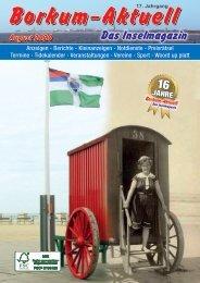 August 2020   Borkum-Aktuell - Das Inselmagazin