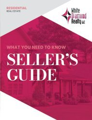 White Diamond Realty - Seller's Guide