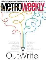 Outwrite 2020 - Metro Weekly - July 30, 2020