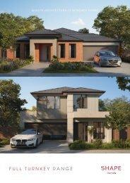 Shape Homes Full Turnkey Range_V6