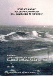 Kortlægning af Bølgeenergiforhold i den danske - Energistyrelsen