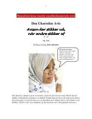 Den Ukorrekte Avis - Anti-humanist - Åse Clausen Bjerg