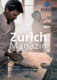 Zurich Magazin Ausgabe 1_2019 DE