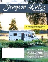 Grayson Lakes August 2020