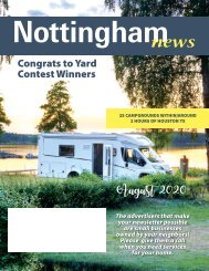 Nottingham August 2020