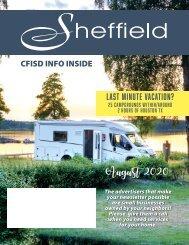 Sheffield August 2020