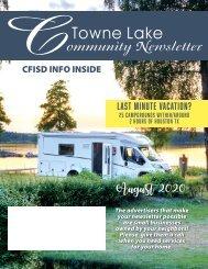 Towne Lake August 2020