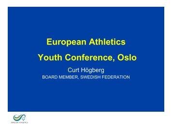 Interest - European Athletics