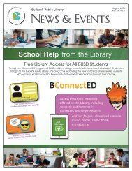August 2020 Library News and Events