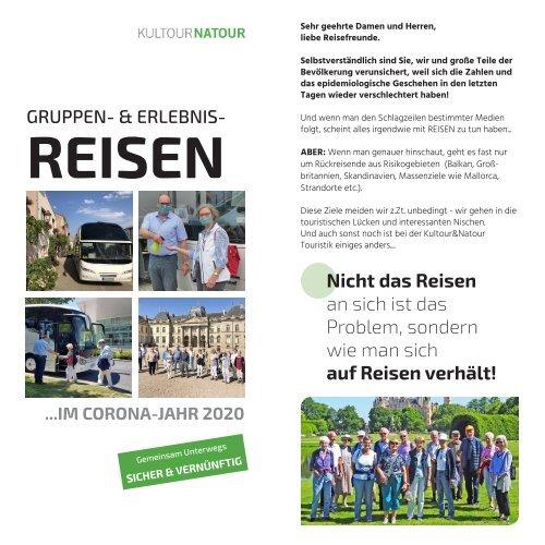 K&N-Gruppen- & Erlebnis-Reisen Sommer 2020