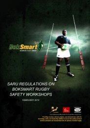 saru regulations on boksmart rugby safety workshops