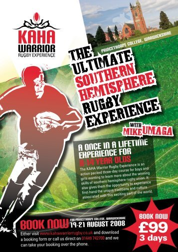 WARRiORRUGBY EXPERIENCE - AIGA