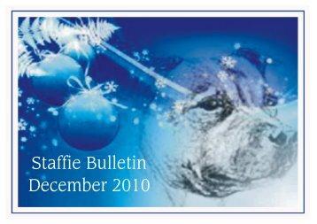 Staffordshire bull terrier club judging list