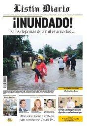 Listin Diario 01-08-2020