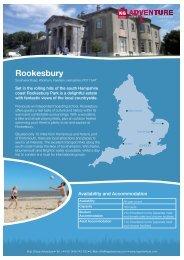 Rookesbury - Travel - KG Adventure