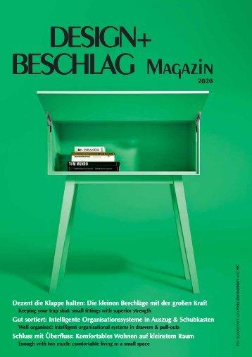 DESIGN+BESCHLAG Magazin 2020