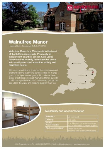 Walnutree Manor - Travel