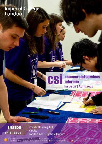 CSI April -small - Workspace - Imperial College London